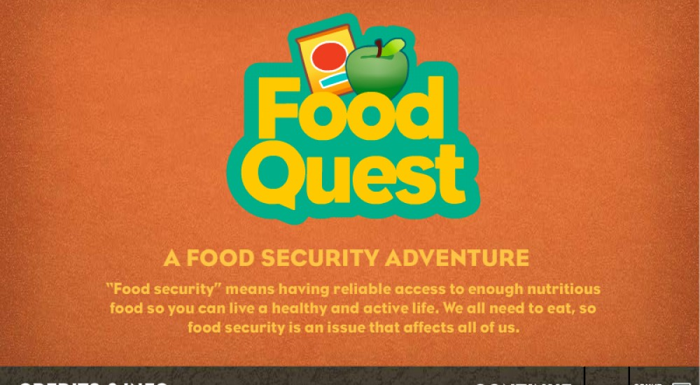 Game: Food Quest